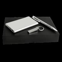 KIT EJECUTIVO POWER BANK+LAPICERO Y USB