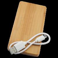 TARJETA BAMBU Y CABLE USB